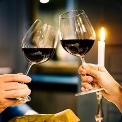 Dinner und Wein